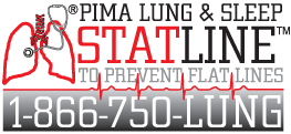 STAT Line logo - 1-866-750-LUNG